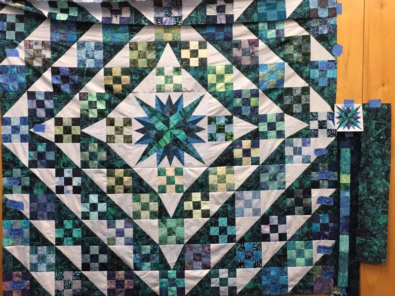 2016 Raffle quilt workshop